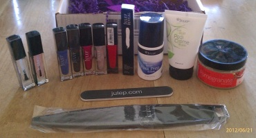 Julep June Mystery Box Everything
