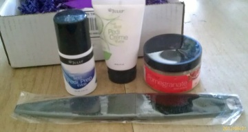 Pedicure items
