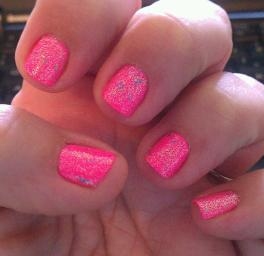 My manicure for The Wall concert