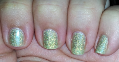butter LONDON's Trustafarian indoors with a flash