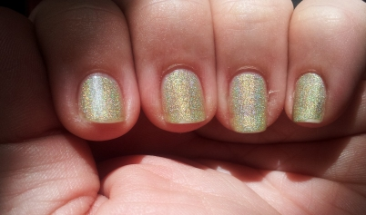 butter LONDON's Trustafarian in the sun