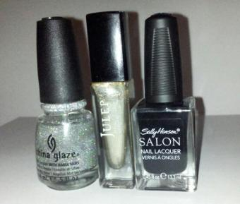 Houndstooth Manicure - Colors