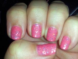 Deborah Lippmann Pink Jelly Sandwich matte