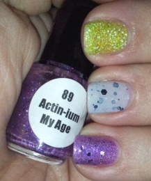 Elemental Designs 89 Actin-ium My Age