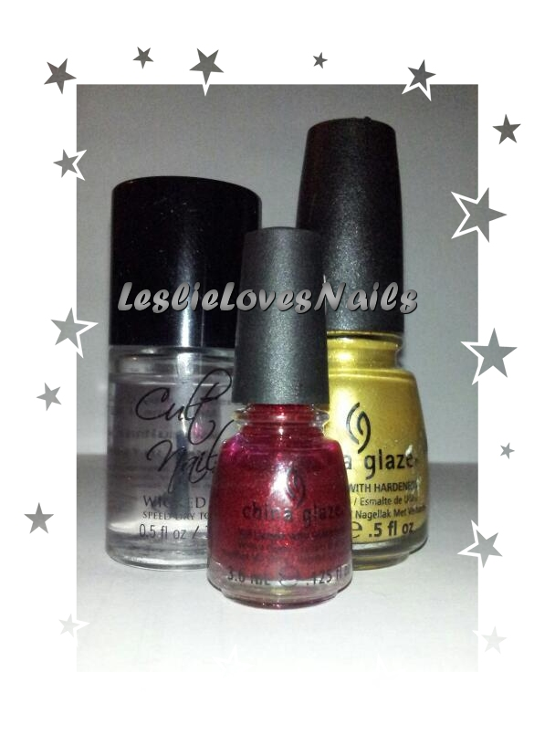 China Glaze Champagne Bubbles and Ruby Pumps