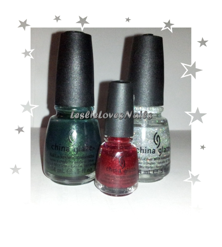 China Glaze Christmas Mani Colors