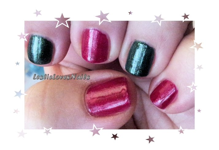 China Glaze Christmas Mani