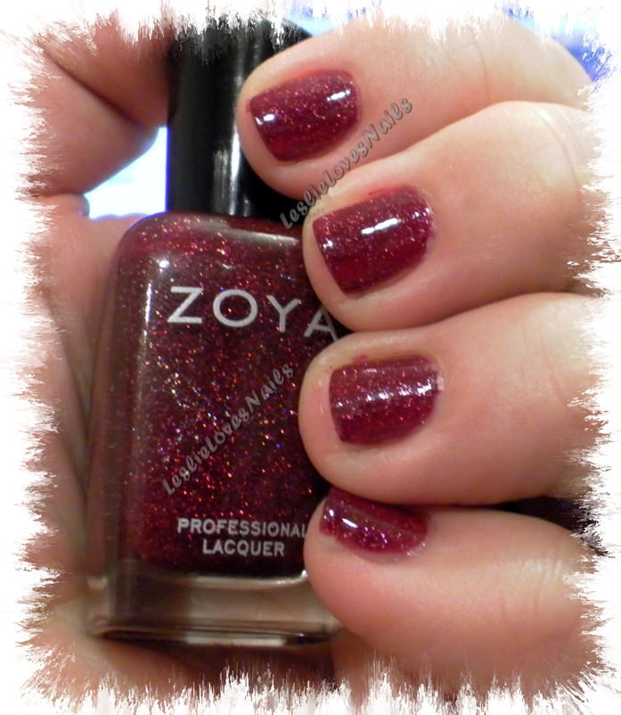 Zoya Blaze with bottle