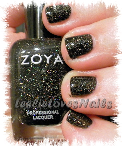 Zoya Storm with bottle