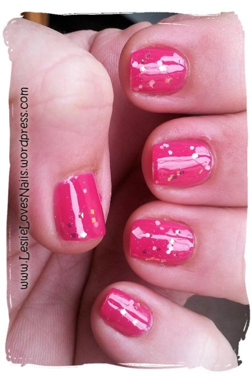 Nails Inc. Lower Regent Street and I <3 Nail Polish Angel Burp