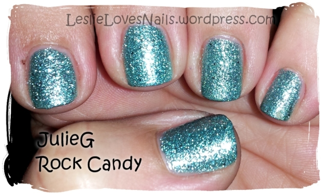 JulieG Rock Candy with topcoat