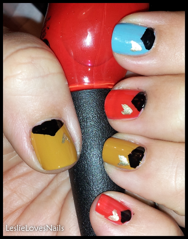 Comic-Con Geek Week Nail Art Day3 Star Trek