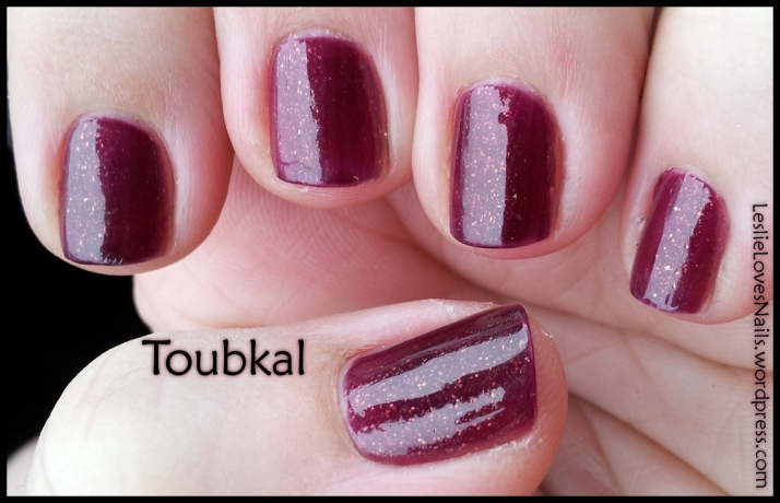 Elevation Polish Toubkal Swatch - Indirect daylight