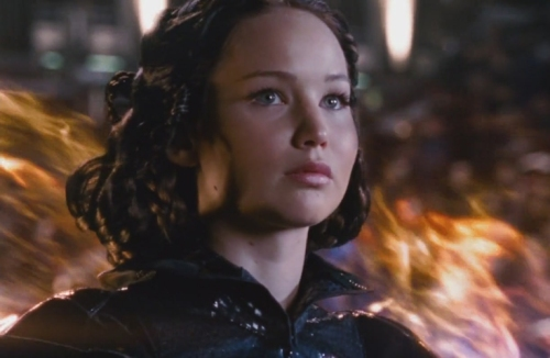 Girl On Fire - The Hunger Games Movie screencap