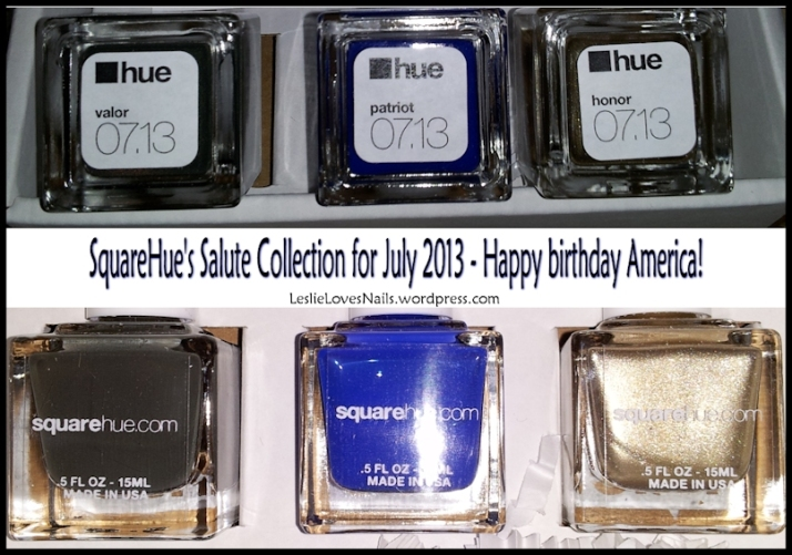 SquareHue Salute Collection July 2013
