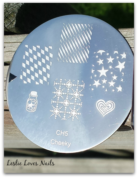 Memorial Day Mani Stamping Plate - Cheeky CH5