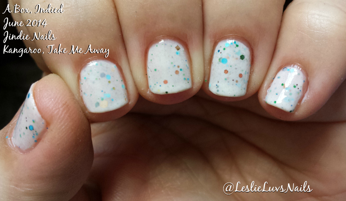 A Box, Indied – June 2014 | Leslie Loves Nails