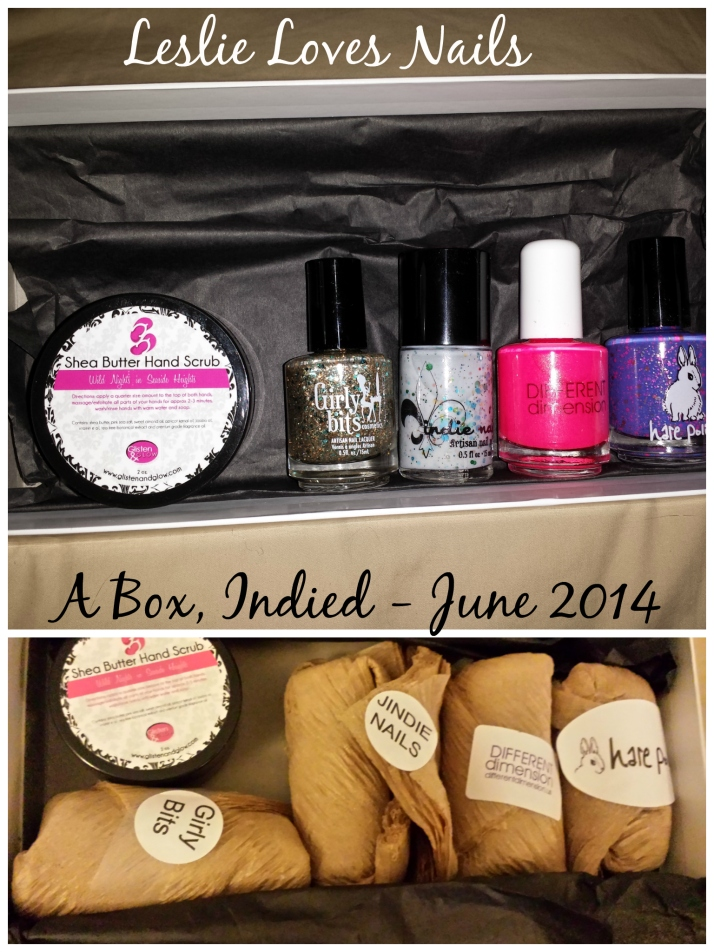 A Box, Indied -  June 2014 in box
