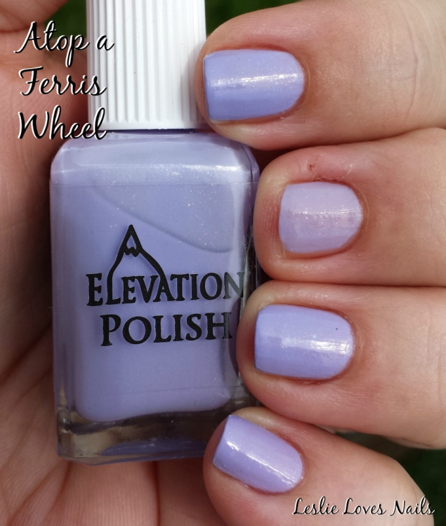 Elevation Polish Atop a Ferris Wheel