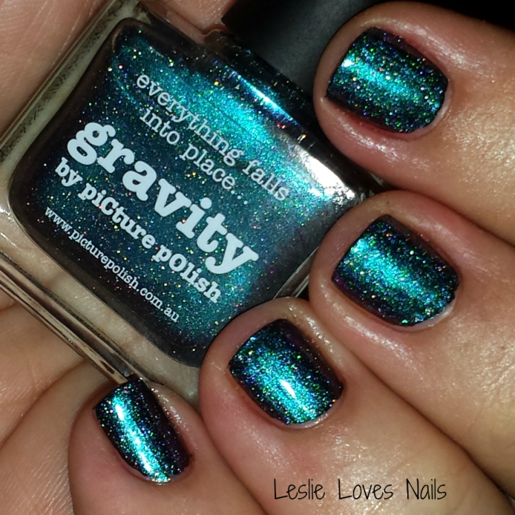 Picture Polish Gravity - Indoors with flash