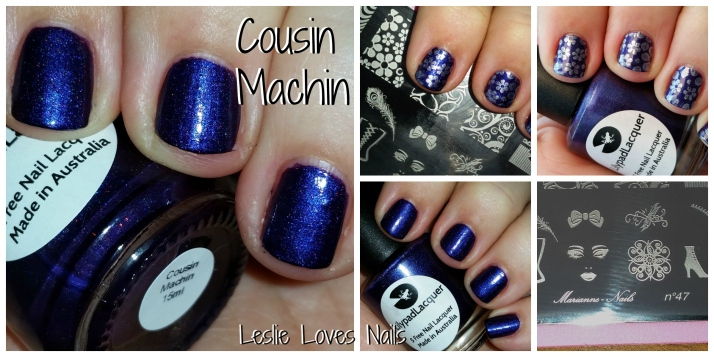 LilypadLacquer Cousin Machin Collage LeslieLovesNails