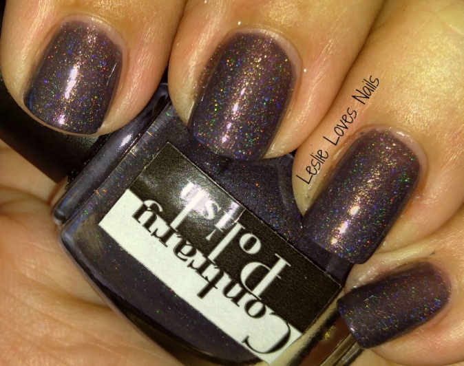 Contrary Polish ~ When In Rome - A Box, Indied August 2015